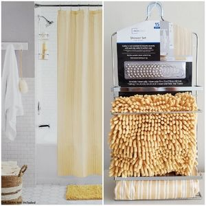 🆕️ NIP Bath Decor Shower Set